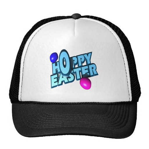 Hoppy Easter Eggs Trucker Hats