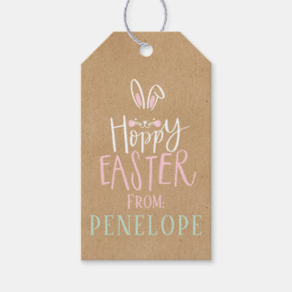 HOPPY EASTER GIFT TAGS