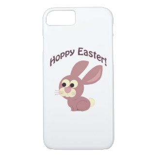 Hoppy Easter Pink Bunny iPhone 7 Case