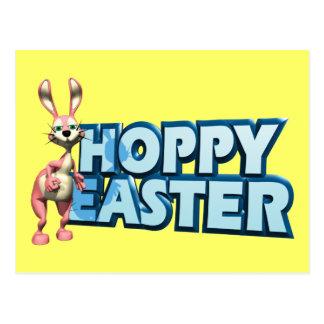 Hoppy Easter Postcards