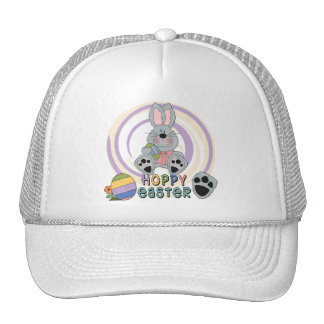 Hoppy Easter T-shirts and Gifts Mesh Hat