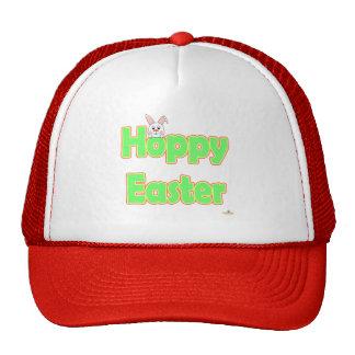 Hoppy Easter White Bunny Cap