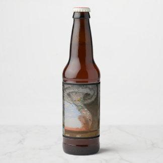 Hoppy Ever After, blank Beer Bottle Label