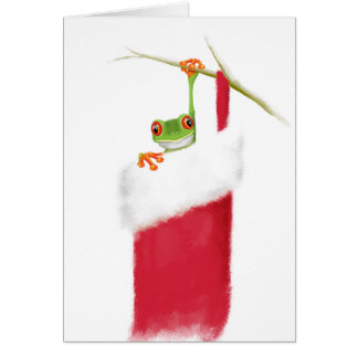 Hoppy Holidays Card