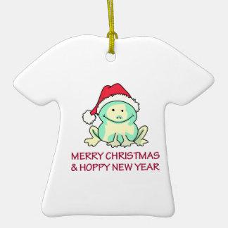 HOPPY NEW YEAR CHRISTMAS TREE ORNAMENT