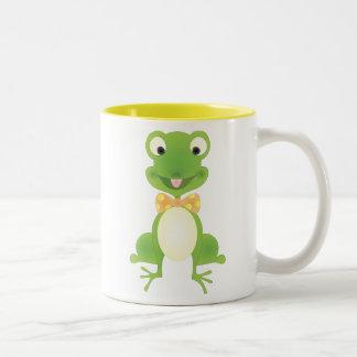 Hoppy the Frog Two-Tone Mug
