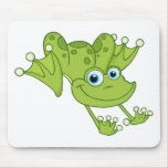 Hoppy the Happy Frog Mouse Pad