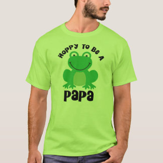 Hoppy To Be A Papa Gift T-Shirt