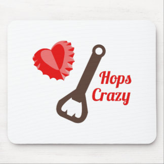 Hops Crazy Mouse Pad