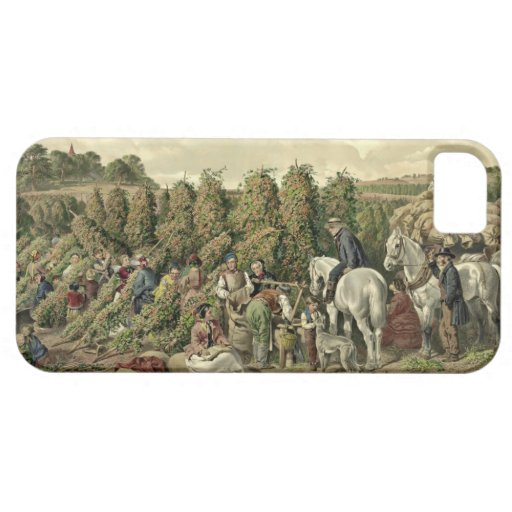 Hops Harvest 1857 iPhone 5/5S Case