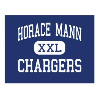 Horace Mann Chargers Middle Sheboygan Postcard