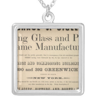 Horace V Sigler Silver Plated Necklace
