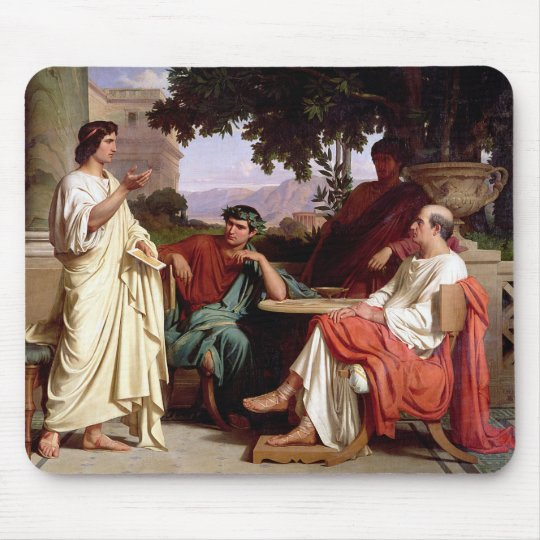 Horace, Virgil and Varius Mouse Mat