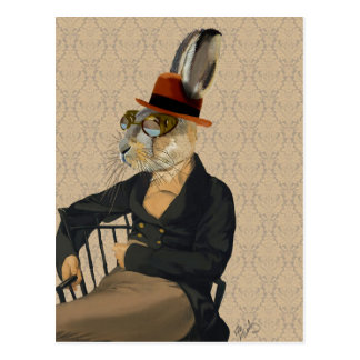 Horatio Hare on Chair Postcard