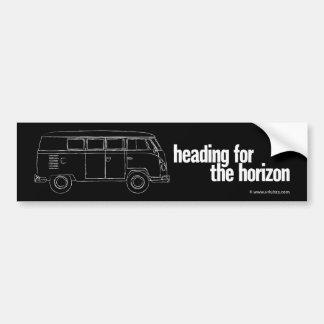 horizon – a vintage camper bumper sticker