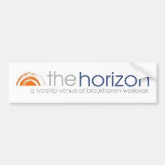 Horizon Bumper Sticker