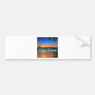 Horizon Freeway profile Bumper Sticker