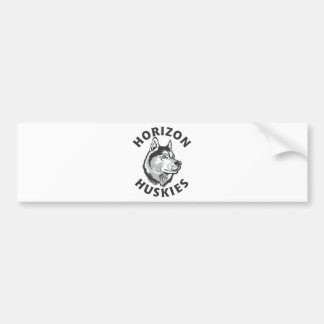 Horizon Logo Bumper Stickers