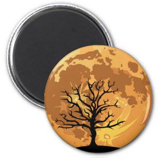 Horizon Moon 6 Cm Round Magnet