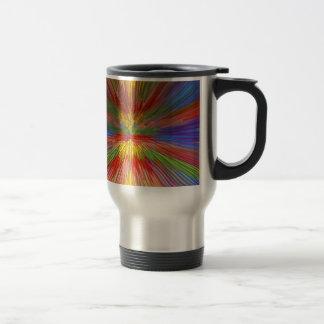 HORIZON Rainbow Colorful Stripe Romantic Gifts fun Coffee Mug