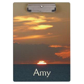 Horizon Sunset Clipboard