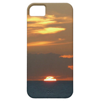Horizon Sunset Colorful Seascape Photography Barely There iPhone 5 Case