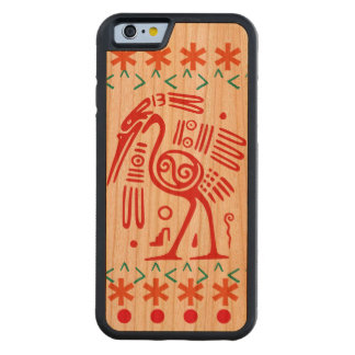 Horizons Aztec phone case Carved® Cherry iPhone 6 Bumper Case