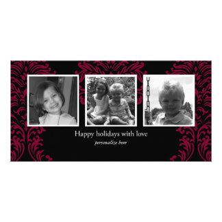 Horizontal 3-photo card photo cards