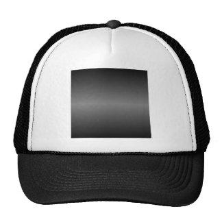 Horizontal Black and Gray Gradient Hat
