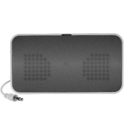 Horizontal Black and Gray Gradient Portable Speakers