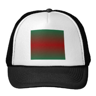 Horizontal CadmiumGreen and OU CrimsonRed Gradient Cap