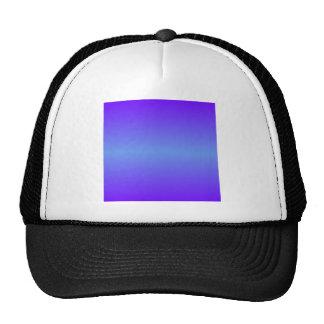 Horizontal Cornflower Blue and Electric Indigo Cap