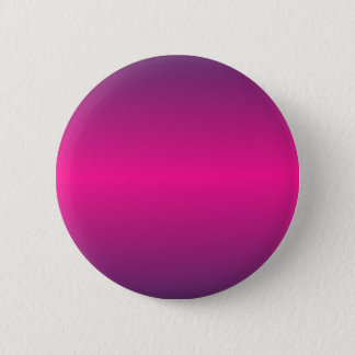 Horizontal Deep Pink and Imperial Gradient 6 Cm Round Badge