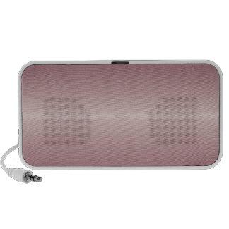 Horizontal Dust Storm and Dark Scarlet Gradient Mini Speakers