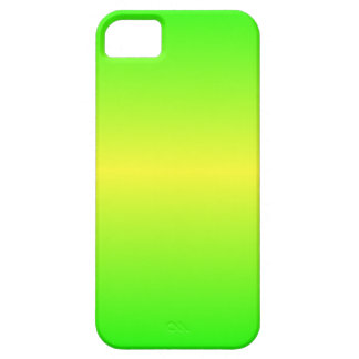 Horizontal Electric Yellow and Electric Green iPhone 5 Covers