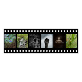 Horizontal Film Strip Photography Business Cards