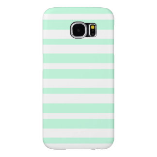 Horizontal Mint Samsung Galaxy S6 Cases