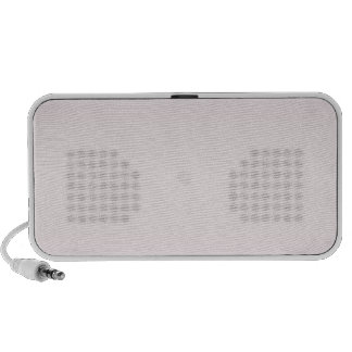 Horizontal MistyRose and Languid Lavender Gradient iPhone Speakers