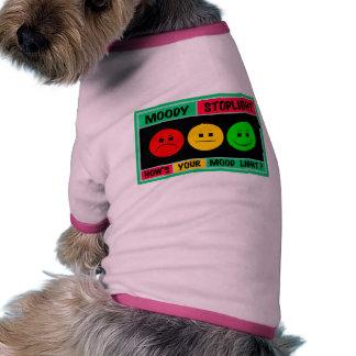 Horizontal Moody Stoplight Logo Dog Tee