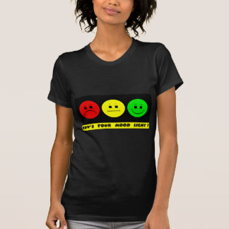 Horizontal Moody Stoplight Mood Light T-Shirt