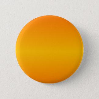 Horizontal Orange 1 - Orange and Amber Gradient 6 Cm Round Badge