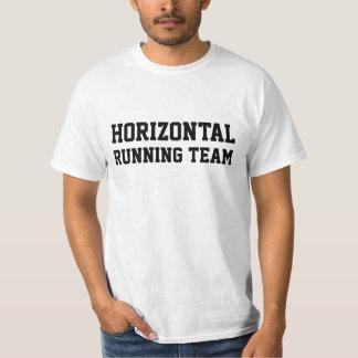 HORIZONTAL RUNNIN TEAM T-Shirt