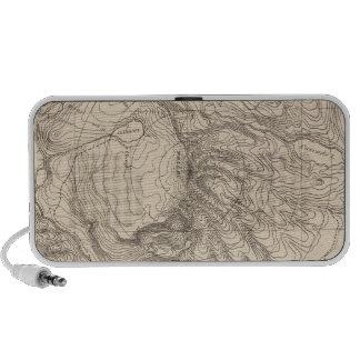 Horizontal sketch from Tallac Peak, Cal Portable Speakers