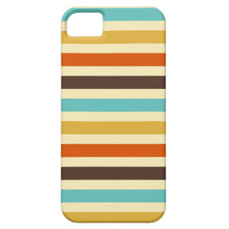 Horizontal Stripes Blue Yellow Red iPhone 5 Cover