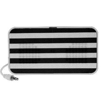 Horizontal Stripes Doodle by OrigAudio™ Mini Speaker