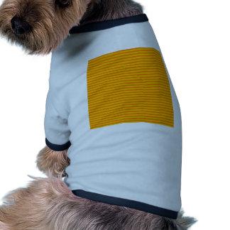 Horizontal Stripes - Orange and Amber Pet Clothing