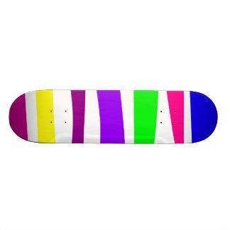 Horizontal Stripes Skate Decks