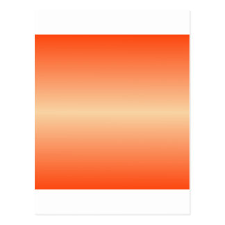 Horizontal Sunset and Coquelicot Gradient Postcard