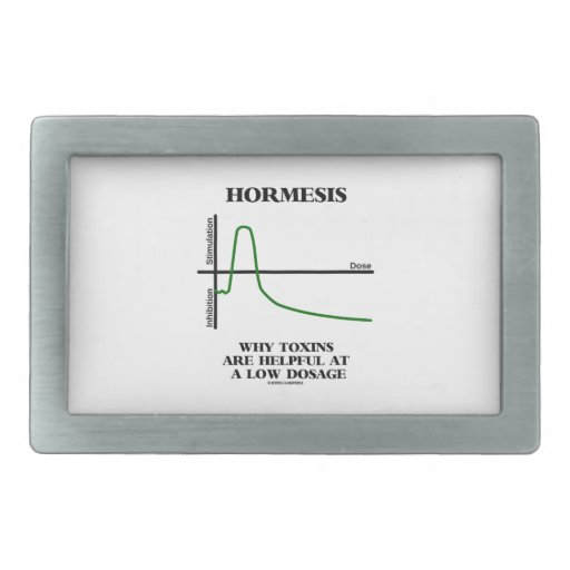 Hormesis Why Toxins Are Helpful At A Low Dosage Belt Buckle