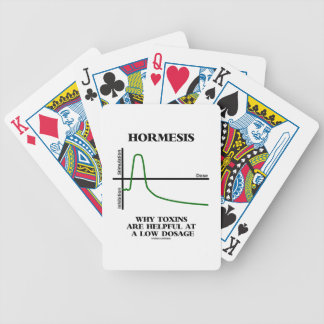 Hormesis Why Toxins Are Helpful At A Low Dosage Bicycle Poker Cards